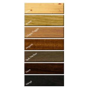 siliconi in legno