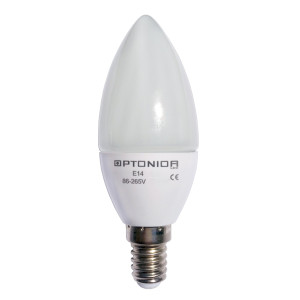 LAMPADINA LED BIANCO CALDO 6W E14 OPTONICA - SP1462