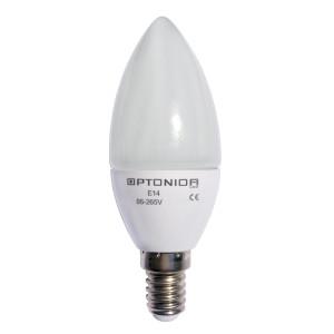 LAMPADINA LED BIANCO CALDO 6W E14 OPTONICA - SP1462
