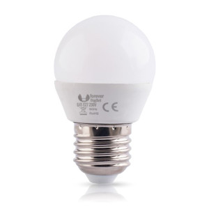 LAMPADINA LED 7W E27 G45 FOREVER LIGHT 3000K