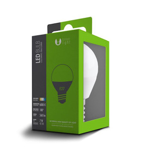 LAMPADINA LED 7W E27 G45 FOREVER LIGHT 3000K
