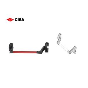 Art.59001 10 0 CISA-Maniglione Antipanico Fast Push per porte modello ambidestro con Scrocco laterale (1)