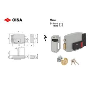 Cisa-ELETTROSERRATURE DA APPLICARE A CILINDRO SINISTRA 11610 (2)