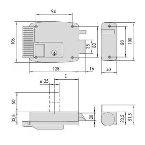 Cisa-ELETTROSERRATURE DA APPLICARE A CILINDRO SINISTRA 11610 (3)