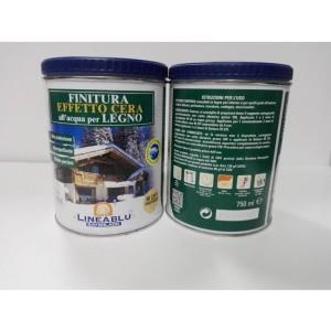 Finitura Effetto Cera all'acqua per legno HI 2311 750 ml