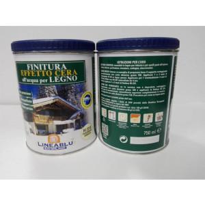 Finitura Effetto Cera all'acqua per legno HI 2310 Trasparente Ambrata 750 ml