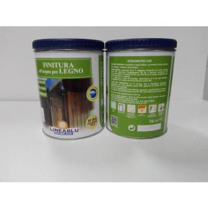 Finitura all'acqua per legno HF 2010 trasparente opaca 750 ml