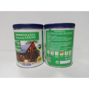 Impregnante all'acqua per legno HI 2010 trasparante 750 ml