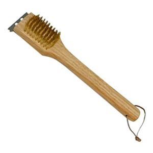 spazzola per pulizia barbacue con fili in ottone 30
